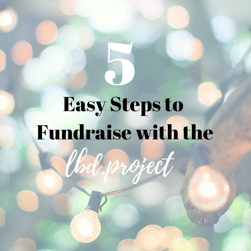 CLICK THE IMAGE ABOVE to access our PDF guide on how you can easily fundraise with the LBD.Project.