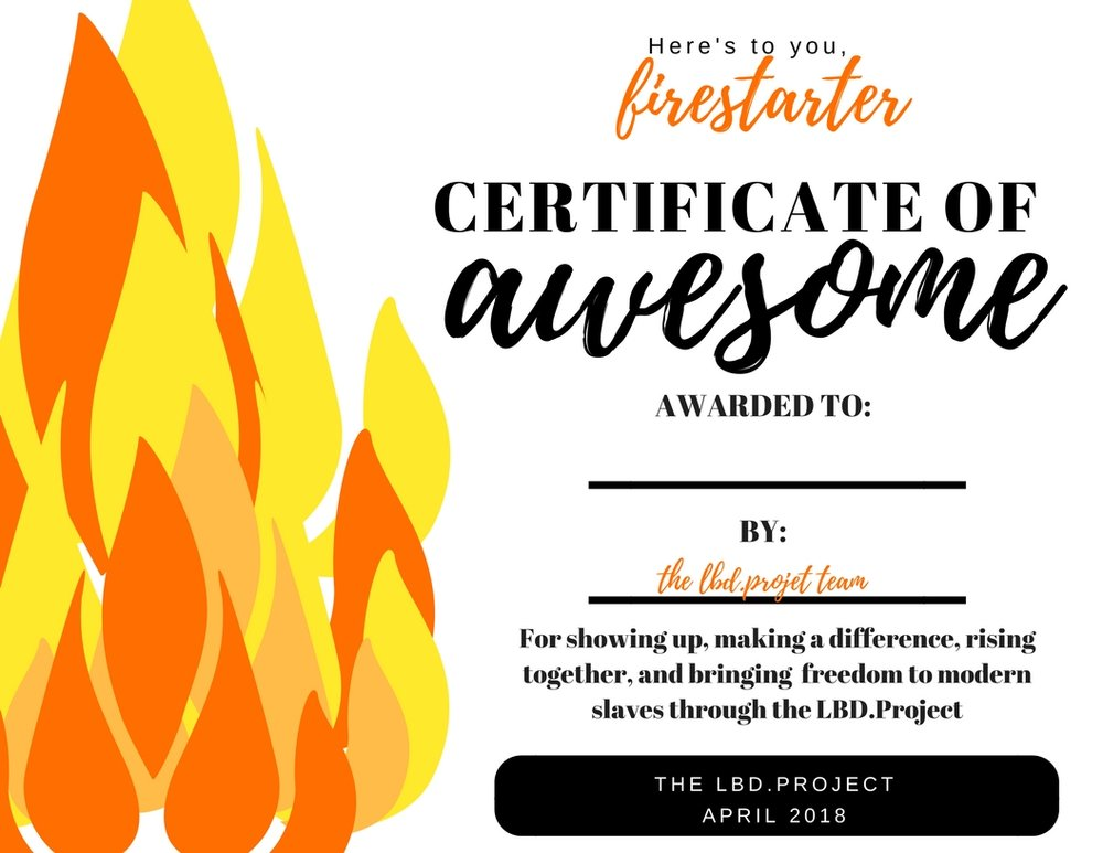 LBD.Project 2018 Firestarter Completion Certificate.jpg