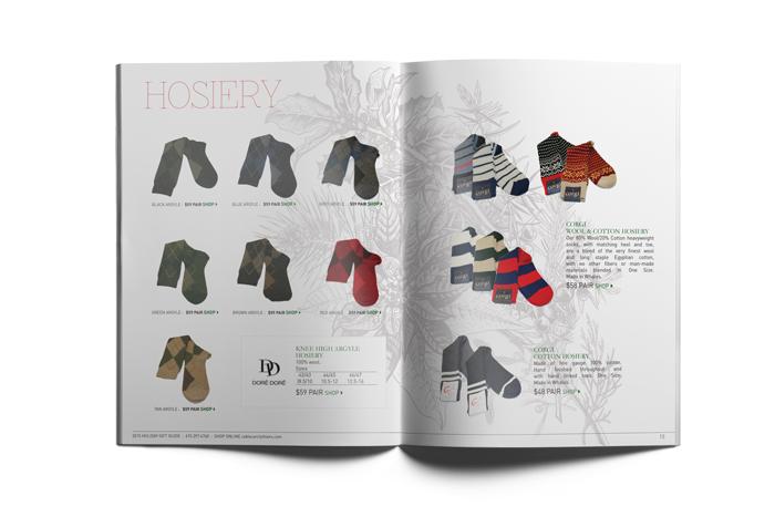 sock catalog