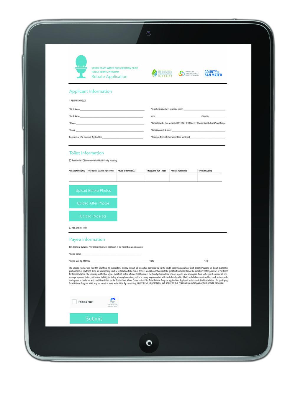 wordpress website form