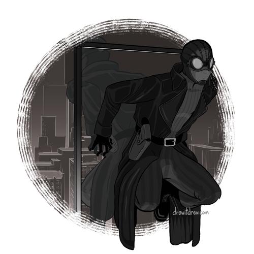 Spider-Man Noir (trench coat)