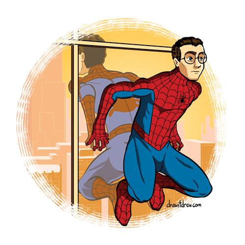 Spider-Man 1966 (unmasked)
