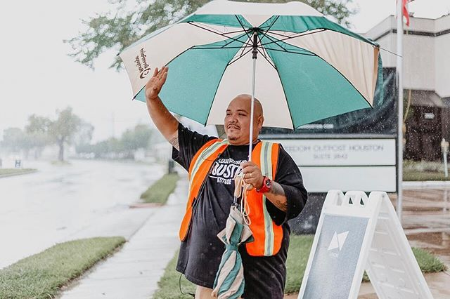 Rain or shine, our SQUAD is always ready to welcome you. We're so thankful for each of you. Kick it with the squad this weekend😉 9:30am or 11:15am #thismustbetheplace #ilovehtx #squadgoals #2800blockparty