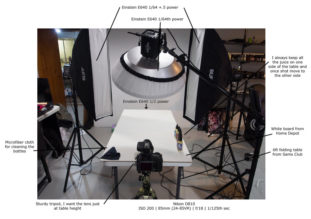 Refer to the how to shoot products on white post as well --> http://www.vpmediagroup.com/blog/2017/1/9/rokinon-14mm-on-white-9365