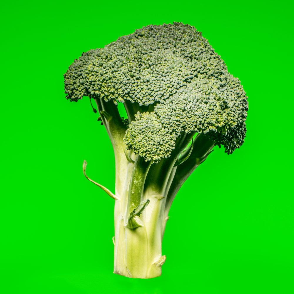 Pop art broccoli