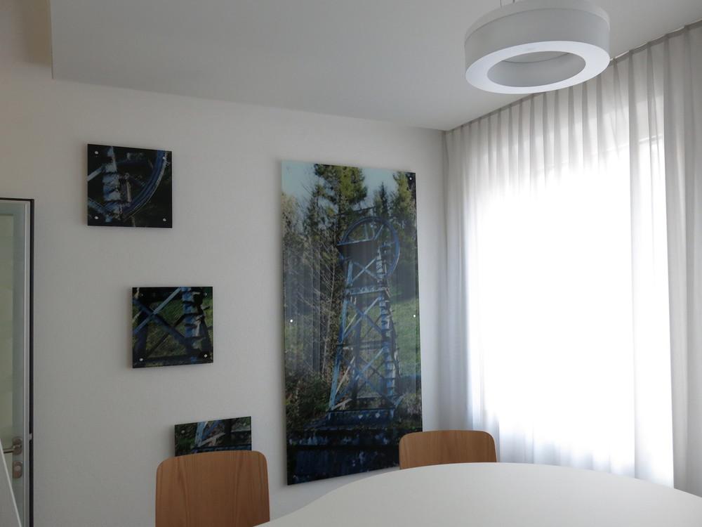Akustik-Spanndecke in Privatwohnung