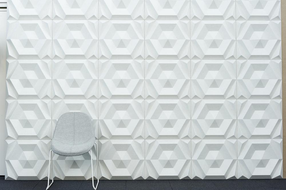 Wandabsorber Johanson Design «Beehive Recangular»