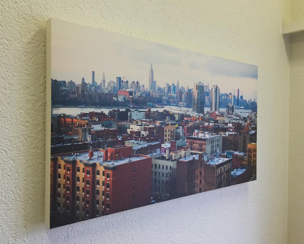 Kopie von Akustikbild «New York City»