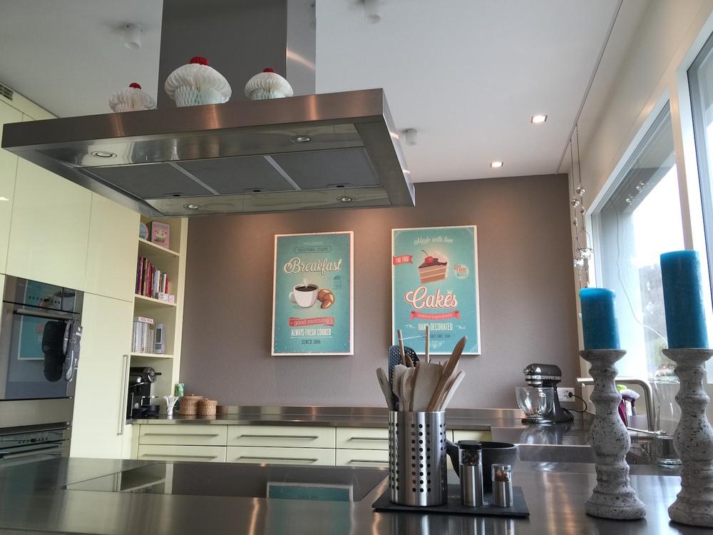Kopie von Akustikbilder zur Schalldämmung in Küche