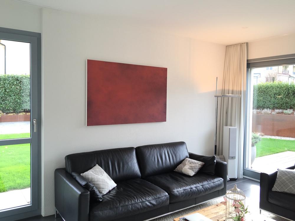 Kopie von Akustikbild Wohnzimmer Privathaus