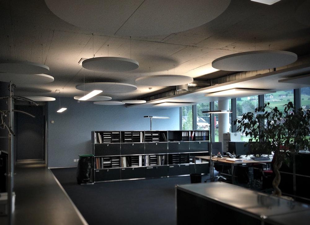 Ecophon Deckensegel, Rund, Quadrate und Rechtecke - Für die optimale Raumakustik