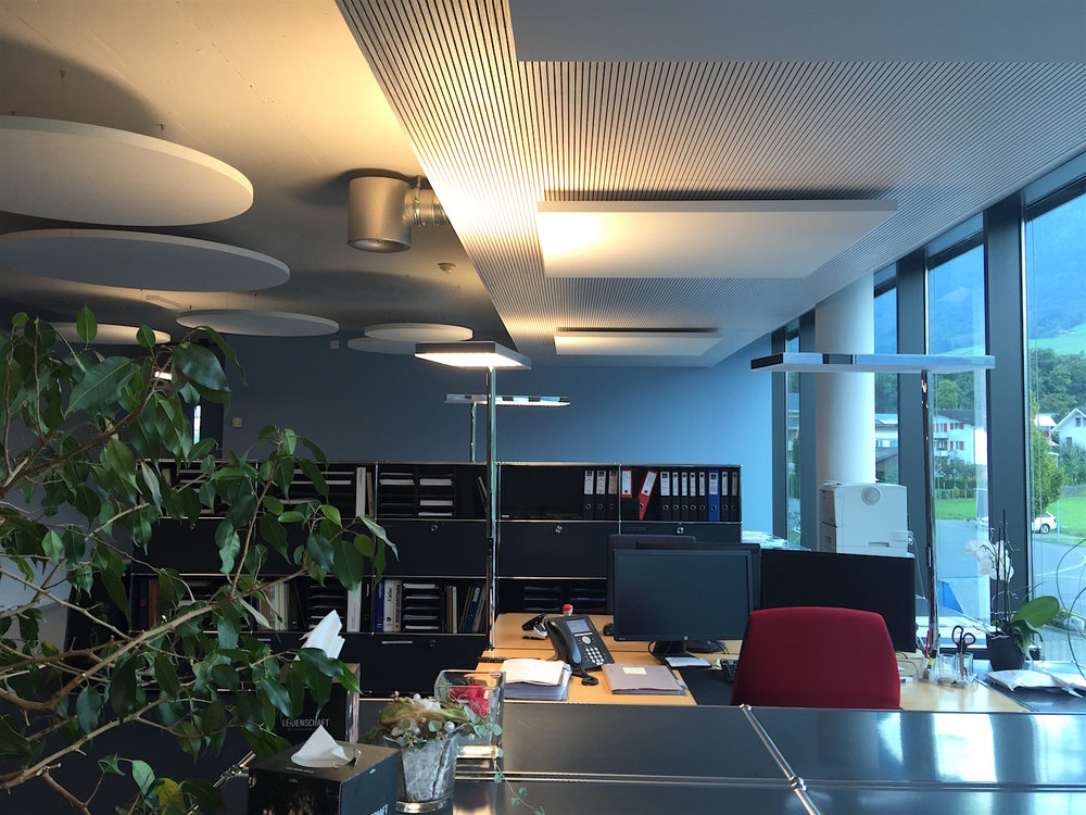 Ecophon Solo® Deckensegel | Für Top-Raumakustik im Mehrpersonenbüro