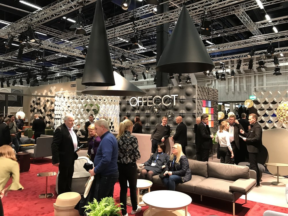 Offecct @ Stockholm Furniture Fair