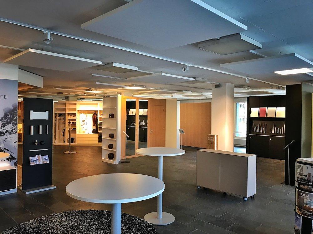 Alpnach Norm - Neue Akustik in der Hauptausstellung von Bellton