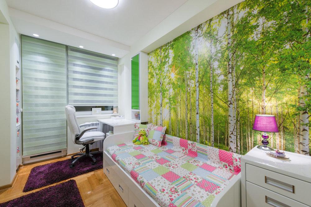 Akustikbild XXL als Wandverkleidung in einer Wohnung