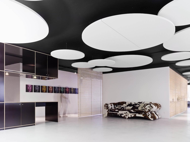 Design Schallabsorber Trennwande: Akustik Deckensegel