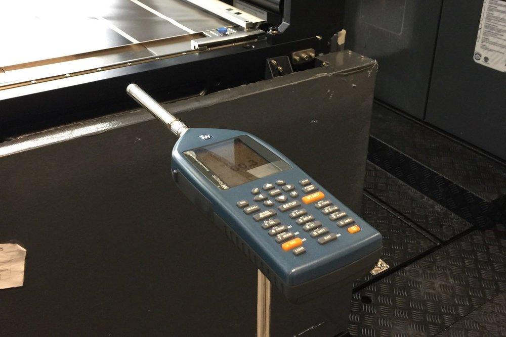 Modernste Messtechnik für Akustikmesseungen