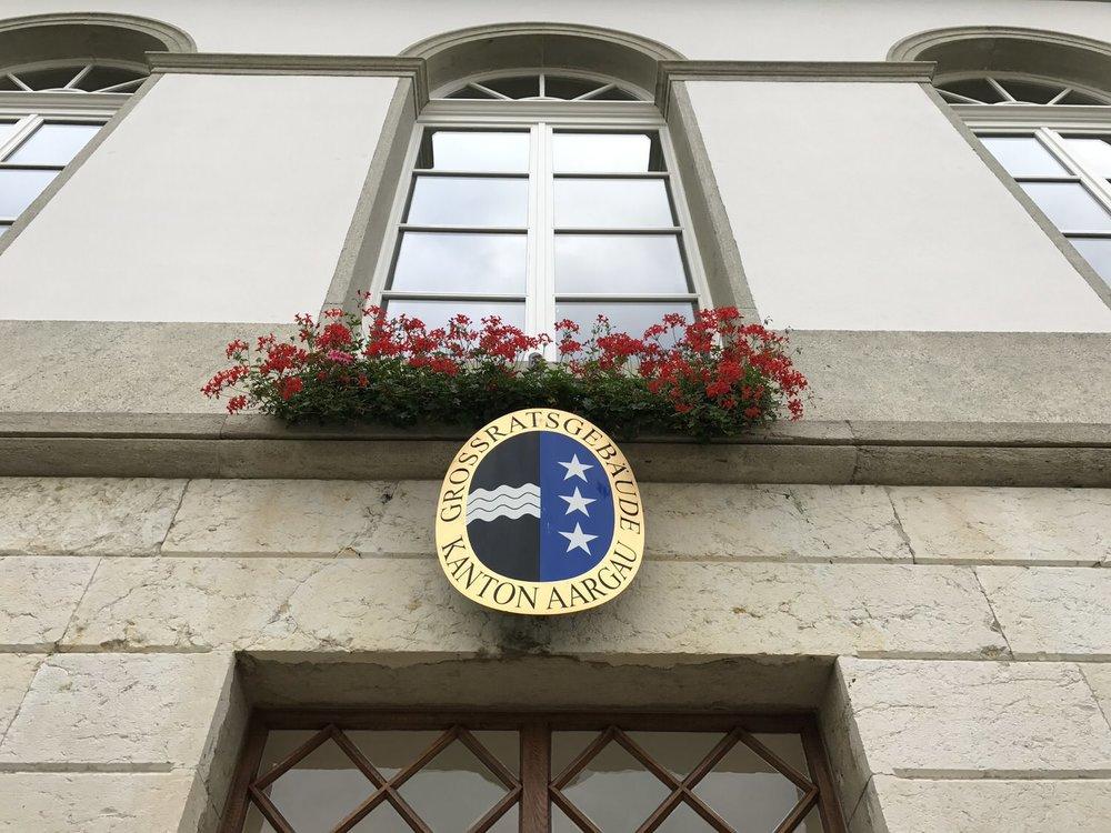 Grossratsgebäude Aarau