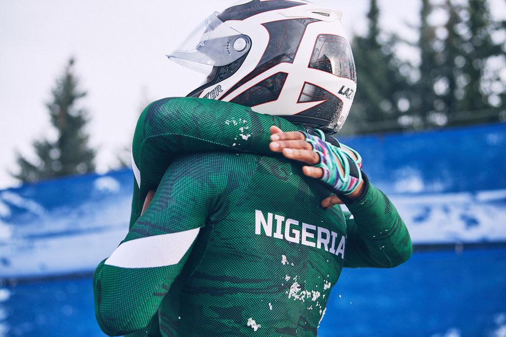 Die Bobfrauen aus Nigeria