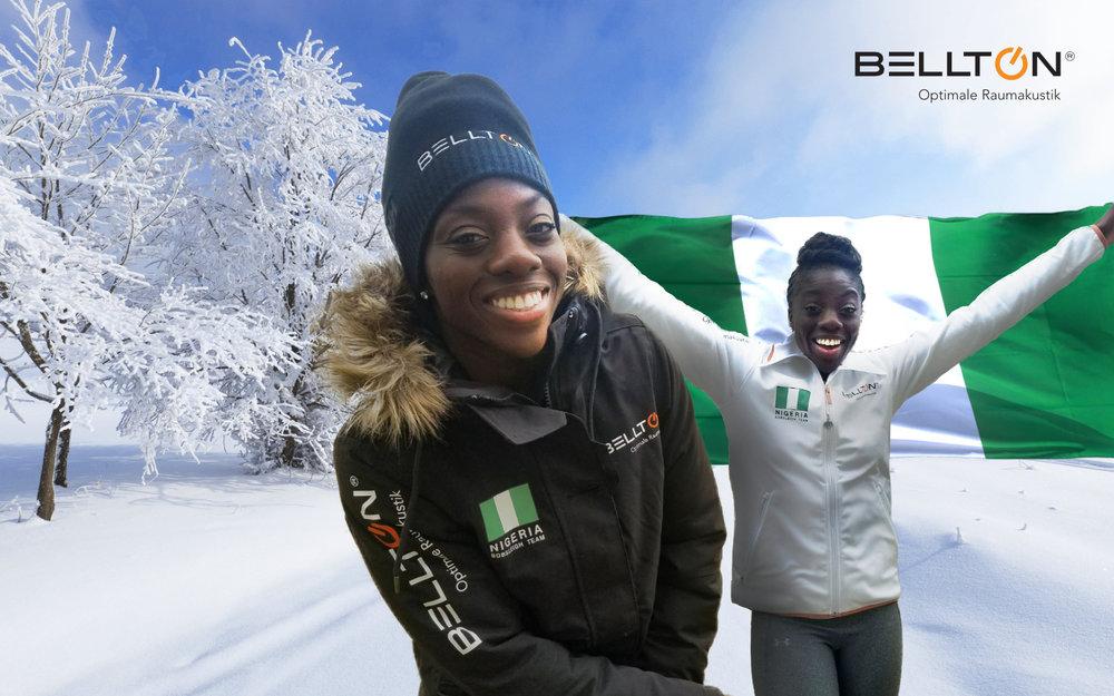 Nigeria Bobfrauen