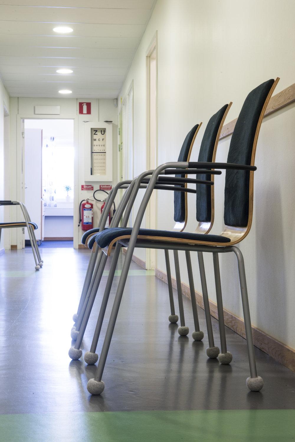 Silent Socks im Wartezimmer