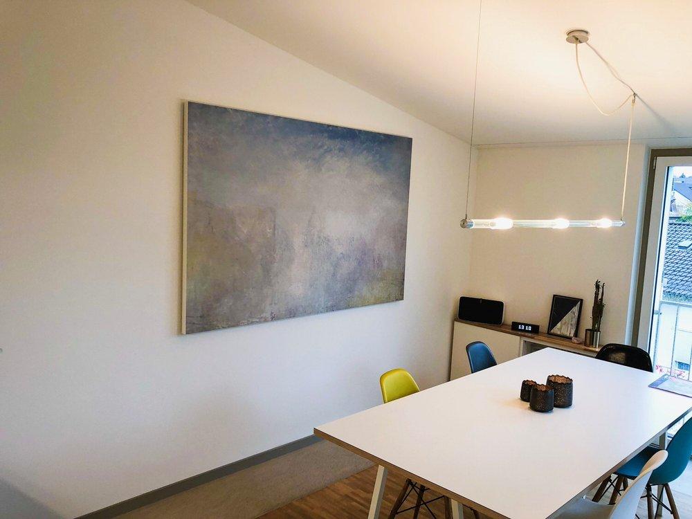 Kopie von Akustikbild im Essbereich in einer Privatwohnung