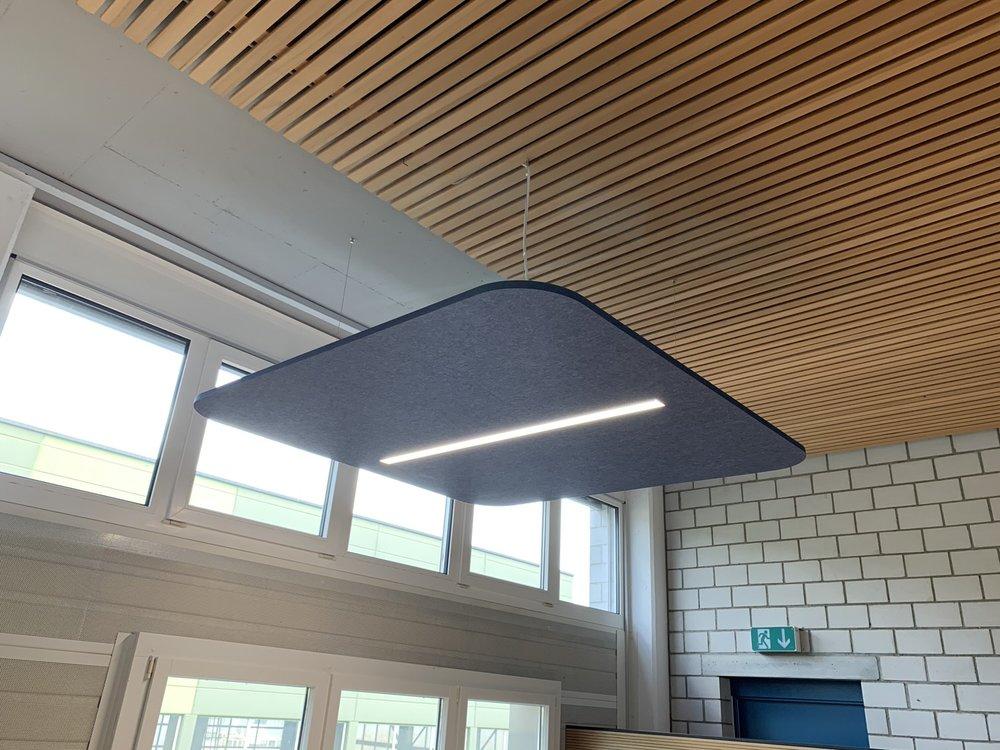 Echosail Deckensegel von EchoJazz mit integriertem LED