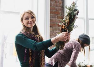 Winter Wreath Workshop 2015
