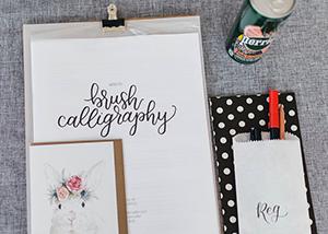 Brush Calligraphy Workshop 2017