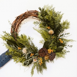 ALL NATURAL WINTER WREATHS