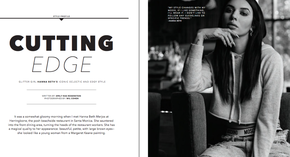 Style Profile-Hanna Beth Merjos,  Locale Magazine  February 2017