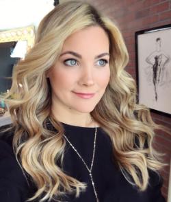 Hairstylist Sarah Potempa