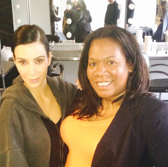 Kim! You're so lucky.... All we wanna do is hang with Bernadette Thompson on set.