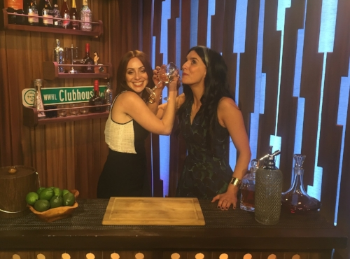 That time we got to be bartenders on Watch What Happens Live