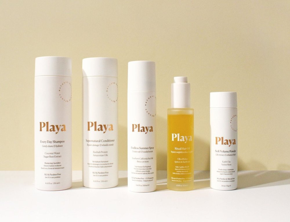20% OFF PLAYA BEAUTY - For 20% off your first order of Playa products, visit PlayaBeauty.com and use code FATMASCARA.