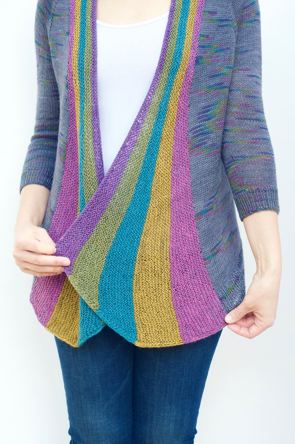 Rainbow Party Cardi