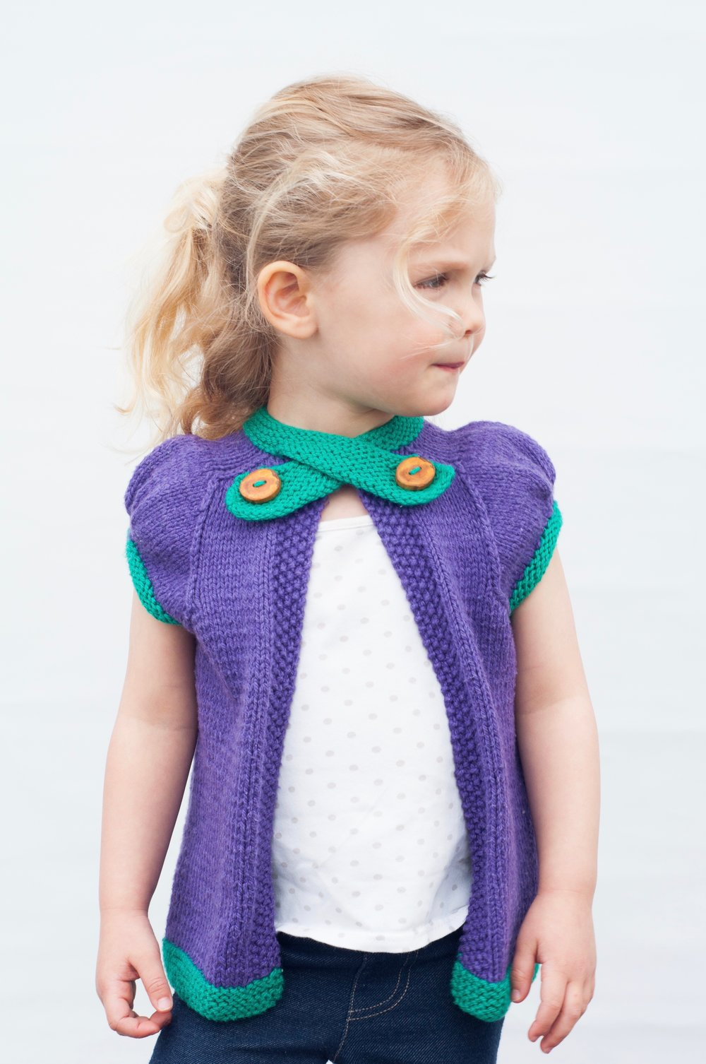 Mini Marple Cardigan
