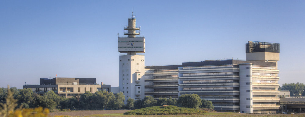 Adastral Park, home of BT's Global Research and Development.