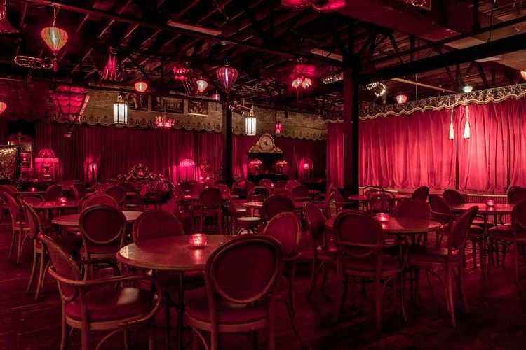 Rent the Maison Rouge  for your next party