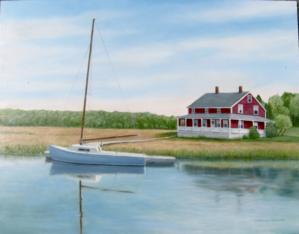 House on the Marshes, Conn.