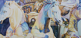 Neptune's Sea Horses - Florence, Italy