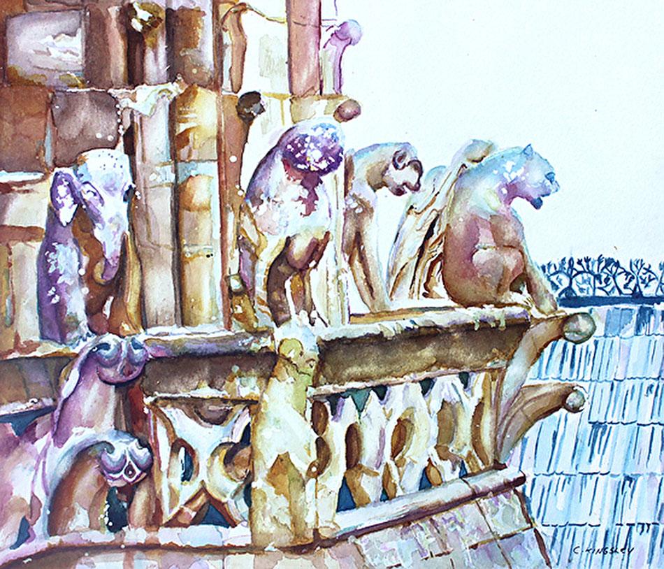 Notre- Dame of Paris Sentinels