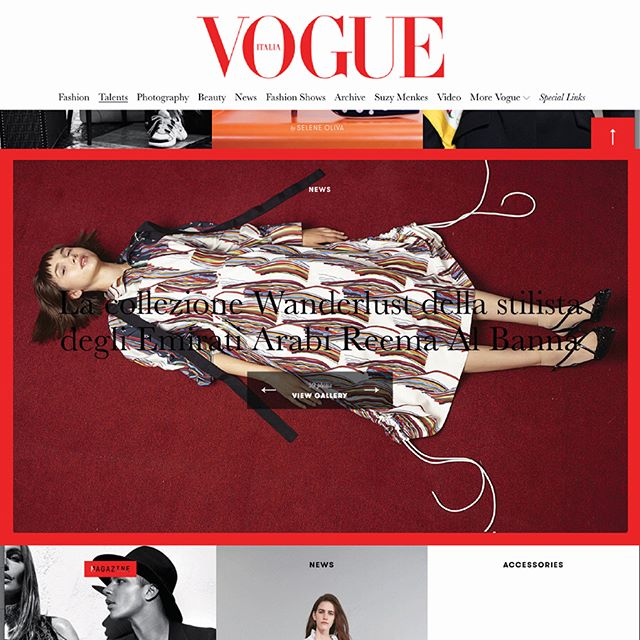 Excitement X2 {Swipe left}: by @fatkidforfashion @vogueitalia ♥️♦️♥️ #reemamiss18 #vogueitalia #italianvogue #milan #vogue #april12 #highnote #springsummer18 #campaign www.vogue.it