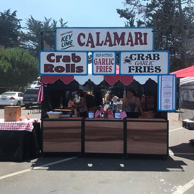 4th of July at the Berkeley Marina. We're open til 10pm. Come get some great food!