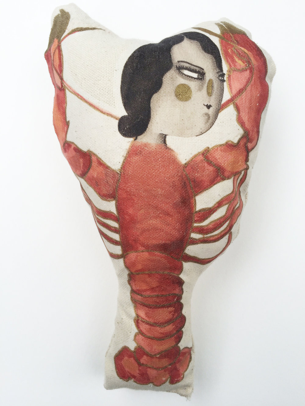 Lobster Lady Cushion.jpg