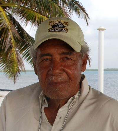 Fly Fishing guide in Belize - Eddie