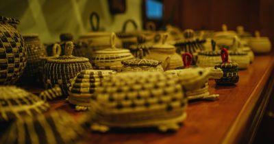 Belizean Weaved baskets