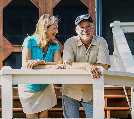 Craig Hayes and Karen Krietlow - Owner Turneffe Flats Resort