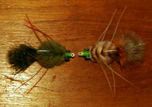 Permit Flies for fishing in Belize.