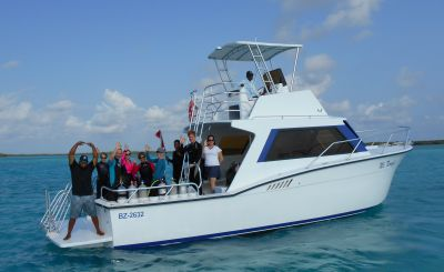 Scuba diving in Belize at Turneffe Flats